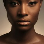 One perfect ebony face makeup