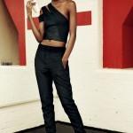 Ebony girl just wears in black. So fashion.