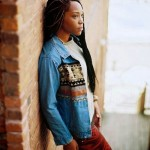 Dorcas Rosie fashion streetwear style and long twists hairstyle