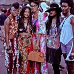 Afro punk fashion style and amazing hairstyle