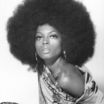 Diana Ross wonderful afro hairstyle