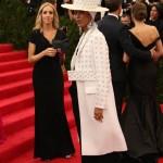 Met Gala 2014: FashionErykah Badu wears an amazing hat and coat!
