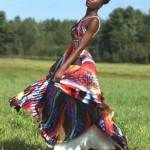 Wonderful colored dress