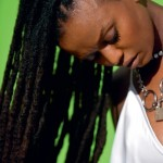 Nice hairstyle with locs