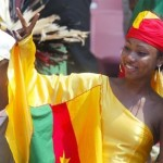 Soccer fashion fan girl from Cameroon at #WorldCup2014 #CMR #WorldCupGirls