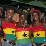 Soccer fashion fan girls from Ghana at #WorldCup2014 #GHA #WorldCupGirls