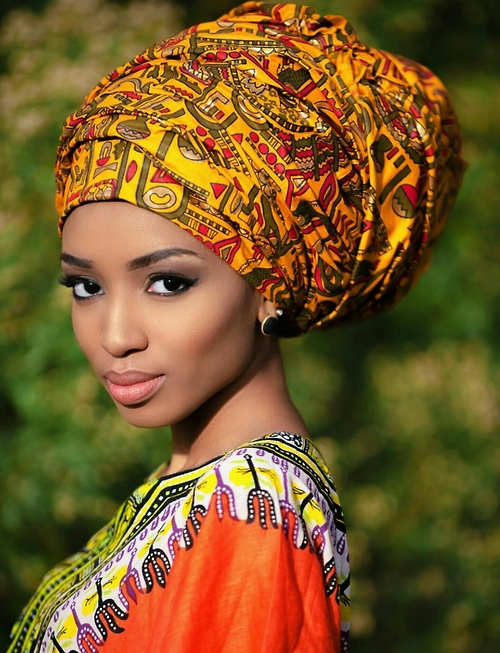 African fashion : very nice headscarf