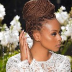Very nice hairstyle with braids