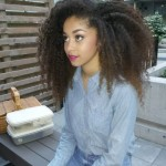 Nice gorgeous natural hair
