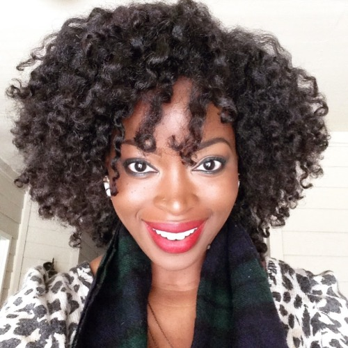 Nice twists out natural hairstyle