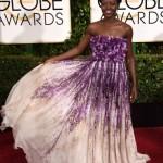 Golden Globe Awards dresses : Lupita Nyong'o