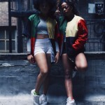 Sportswear style with colored jacket