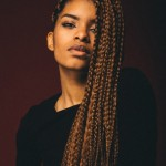 Very nice long golden braids