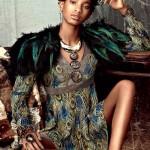 Willow Smith wears dress Saint Laurent