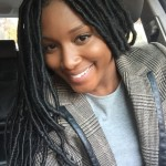 Class long locs hairstyle and jacket
