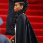 Janelle Monáe wears the braid to end all braids