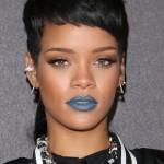 Rihanna lipstick queen blue