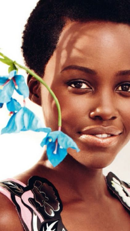 Lupita Nyong'o beautifully captured by Alexi Lubomirski !