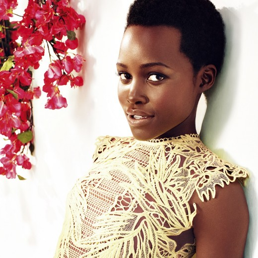 Harper's Bazaar UK May 2015: Actress Lupita Nyong'o